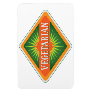 Vegetariano Imán Flexible