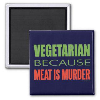 Vegetariano Imán Cuadrado