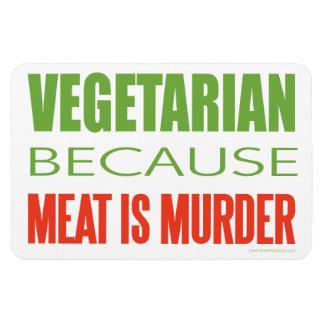 Vegetariano Imanes De Vinilo