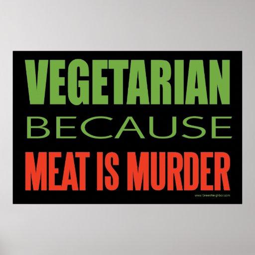 Vegetariano Impresiones