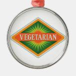 Vegetariano Ornamento De Navidad