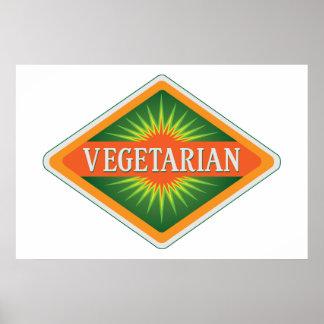 Vegetariano Póster