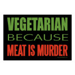 Vegetariano Posters