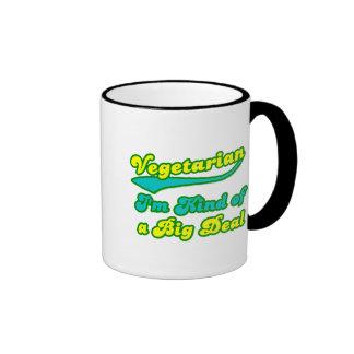 Vegetariano soy un poco una gran cosa tazas de café