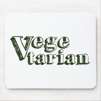 Vegetariano Alfombrilla De Raton