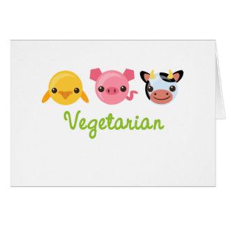 Vegetariano Felicitacion