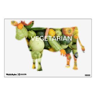 Vegetariano Vinilo Adhesivo