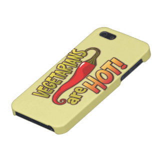 Vegetarians Are Hot Funny iPhone 5 Case