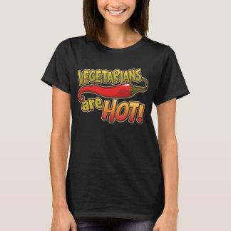 Vegetarians Are Hot Ladies Petite T-Shirt