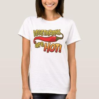 Vegetarians Are Hot Ladies tee