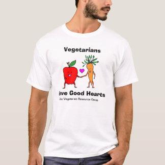 Vegetarians Have Good Hearts Tee