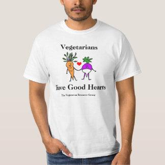 Vegetarians Have Good Hearts Tee 2