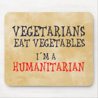 Vegetarians Mouse Pad