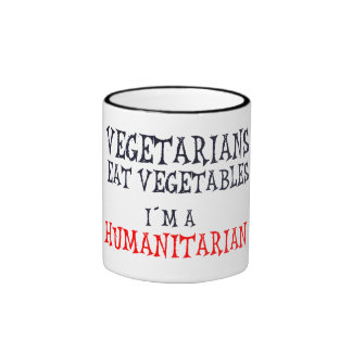 Vegetarians Ringer Mug