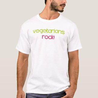 """""""Vegetarians Rock"""" T-Shirt, Wearables (original) T-Shirt"""