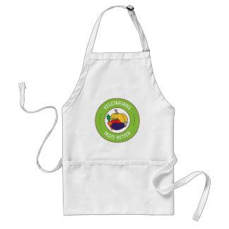 Vegetarians taste better adult apron