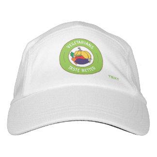 Vegetarians taste better headsweats hat