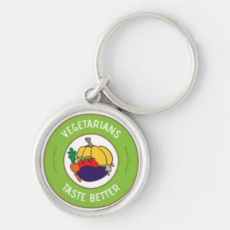 Vegetarians taste better keychain