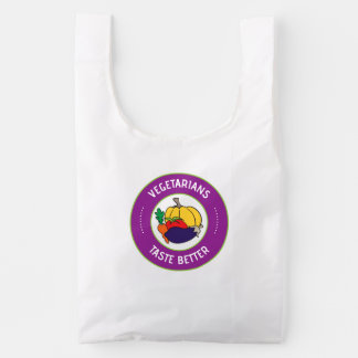 Vegetarians taste better reusable bag
