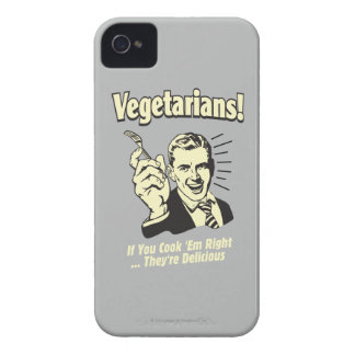 Vegetarians: They're Delicious Case-Mate iPhone 4 Cases