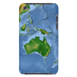 Vegetation Map 2 Case-Mate iPod Touch Case