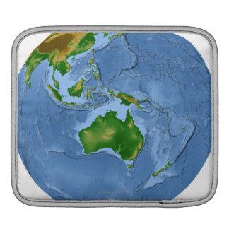 Vegetation Map 2 Sleeve For iPads