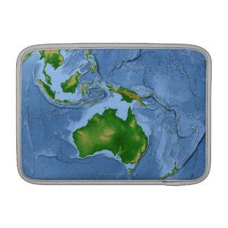 Vegetation Map 2 MacBook Air Sleeve