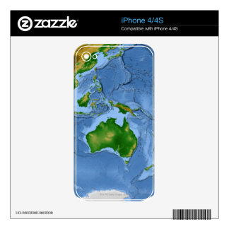 Vegetation Map 2 iPhone 4S Decals