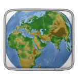 Vegetation Map 3 iPad Sleeve