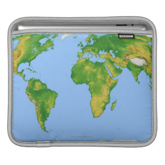 Vegetation Map 4 Sleeve For iPads