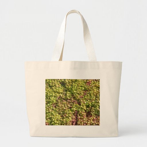 Vegetation Textured Background Tote Bags
