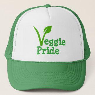 VEGGI PRIDE,vegetarian symbol,vegetarians,veggie, Trucker Hat