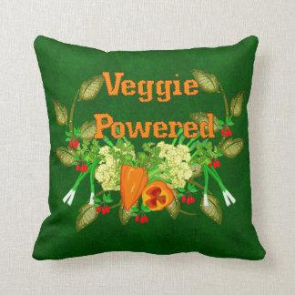Veggie accionado almohada