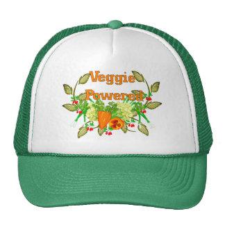 Veggie accionado gorros bordados