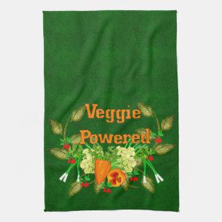 Veggie accionado toallas