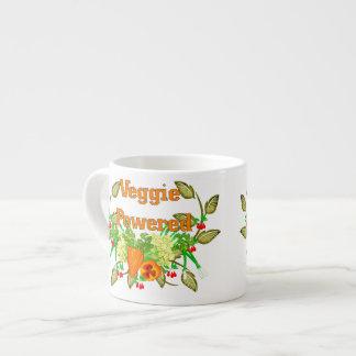 Veggie accionado taza de espresso