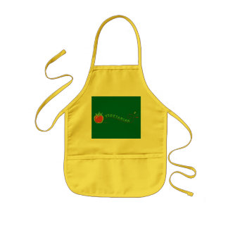 Veggie Apple Kids' Apron