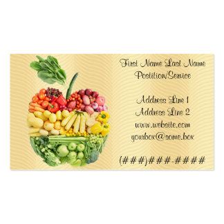 Veggie Apple Business Card