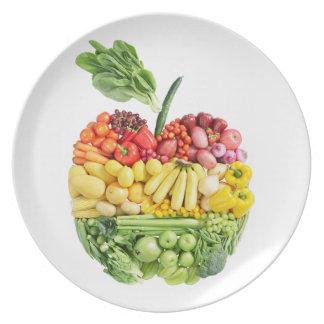 Veggie Apple Plate