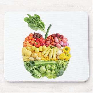 Veggie Apple Alfombrilla De Ratón