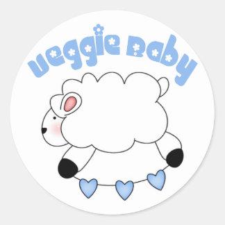 Veggie Baby Boy Stickers