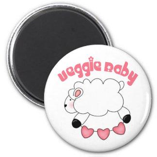 Veggie Baby Girl Magnet