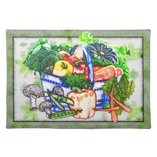 Veggie Basket Placemat