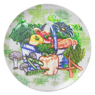 Veggie Basket Plate