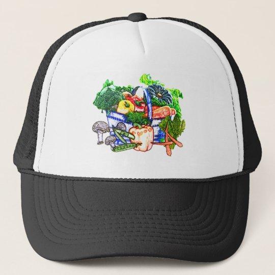 Veggie Basket Trucker Hat
