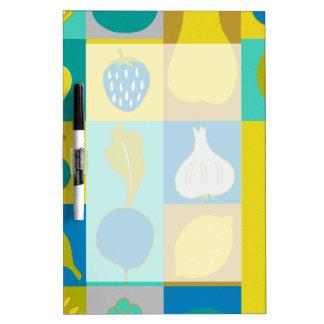 Veggie Blocks I Dry-Erase Board