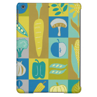 Veggie Blocks II iPad Air Cover