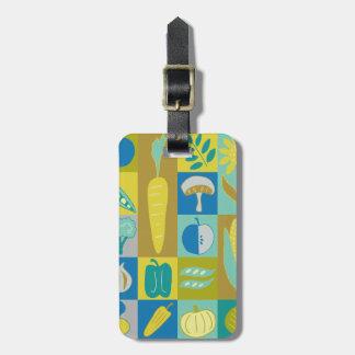 Veggie Blocks II Luggage Tag