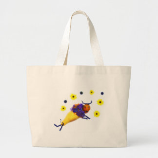 Veggie Buffalo $ flowers Jumbo Tote Bag