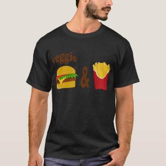Veggie Burger and Fries T-Shirt